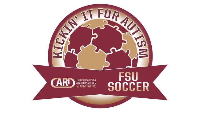 Kickin' it for Autism logo.
