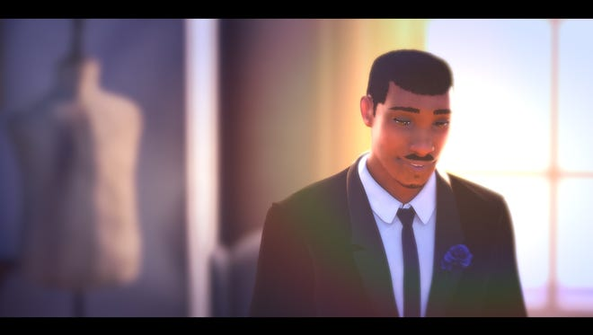 """A scene from Mark McKinsey's animated short, """"Vows,"""" which is a part of Palm Springs International Animation Festival Nov. 9-11."""