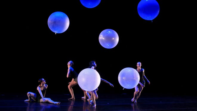 """""""Aloft,"""" choreographed by Angela Green, was part of the Red Rock Dance Festival's Choreography Showcase on June 3 at Dixie State University's Cox Performing Arts Center in St. George."""