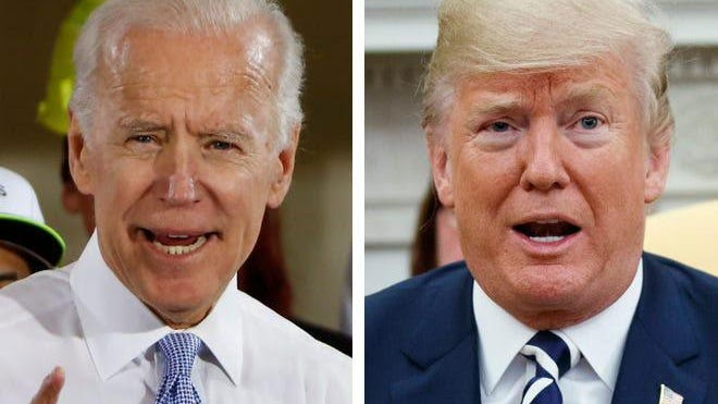 Former Vice President Joe Biden's has opened a 10-point lead over President Donald Trump among registered voters in the latest ABC News/Washington Post poll. But the poll also found Trump's supporters are more enthusiastic than Biden's.