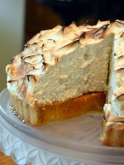 Mile-High Sweet Potato Meringue Pie lives up to its