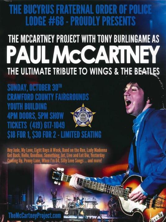 1- Paul McCartney