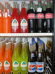 Mexican sodas are sweetened with cane sugar rather than the high fructose corn syrup used in the United States. Some say cane sugar gives a soda a fresher flavor.