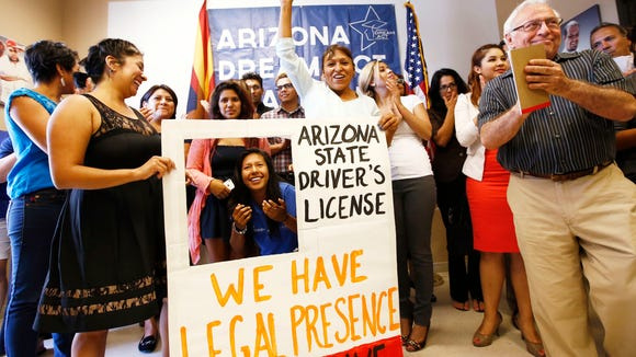 Arizona Dreamers celebrate their last court victory, which the state is trying to reverse.