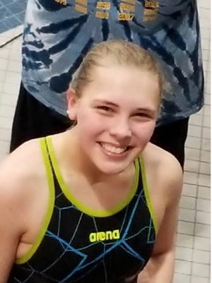 Shelby sophomore Kassie Stine is making a return trip to the state swim meet in Canton