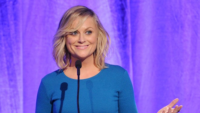 Amy Poehler at the Beverly Wilshire Four Seasons Hotel on Oct. 4, 2013.