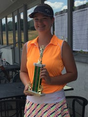 Madison senior Jenna Messner won the girls 17-18 division