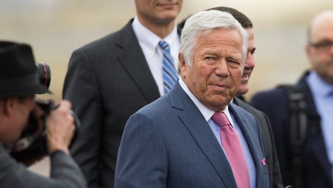 New England Patriots owner Robert Kraft suggested that the NFL might owe his team an apology.
