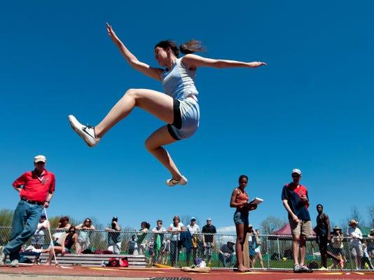 Burlington High School Track and Field Invitational 05/04/13