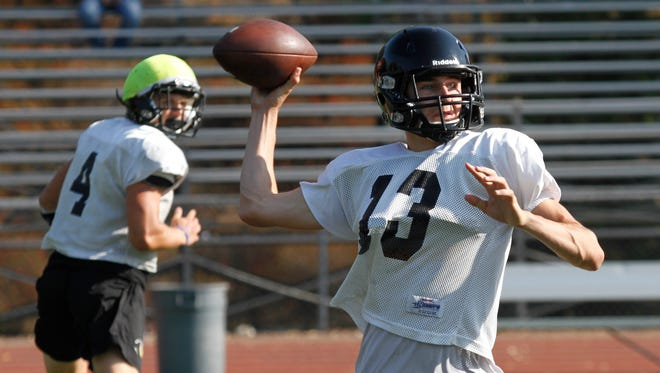 Calabasas High quarterback Tristan Gebbia is the CIF-SS Division 5 Offensive Player of the Year.