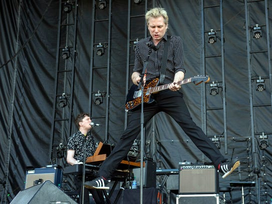 May 5, 2018 - Franz Ferdinand performs on the Bud Light