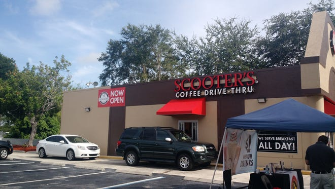 Scooter's Coffee of Cape Coral, the first Scooter's franchise in Florida, officially opened on July 15 and had a grand opening celebration on July 22.
