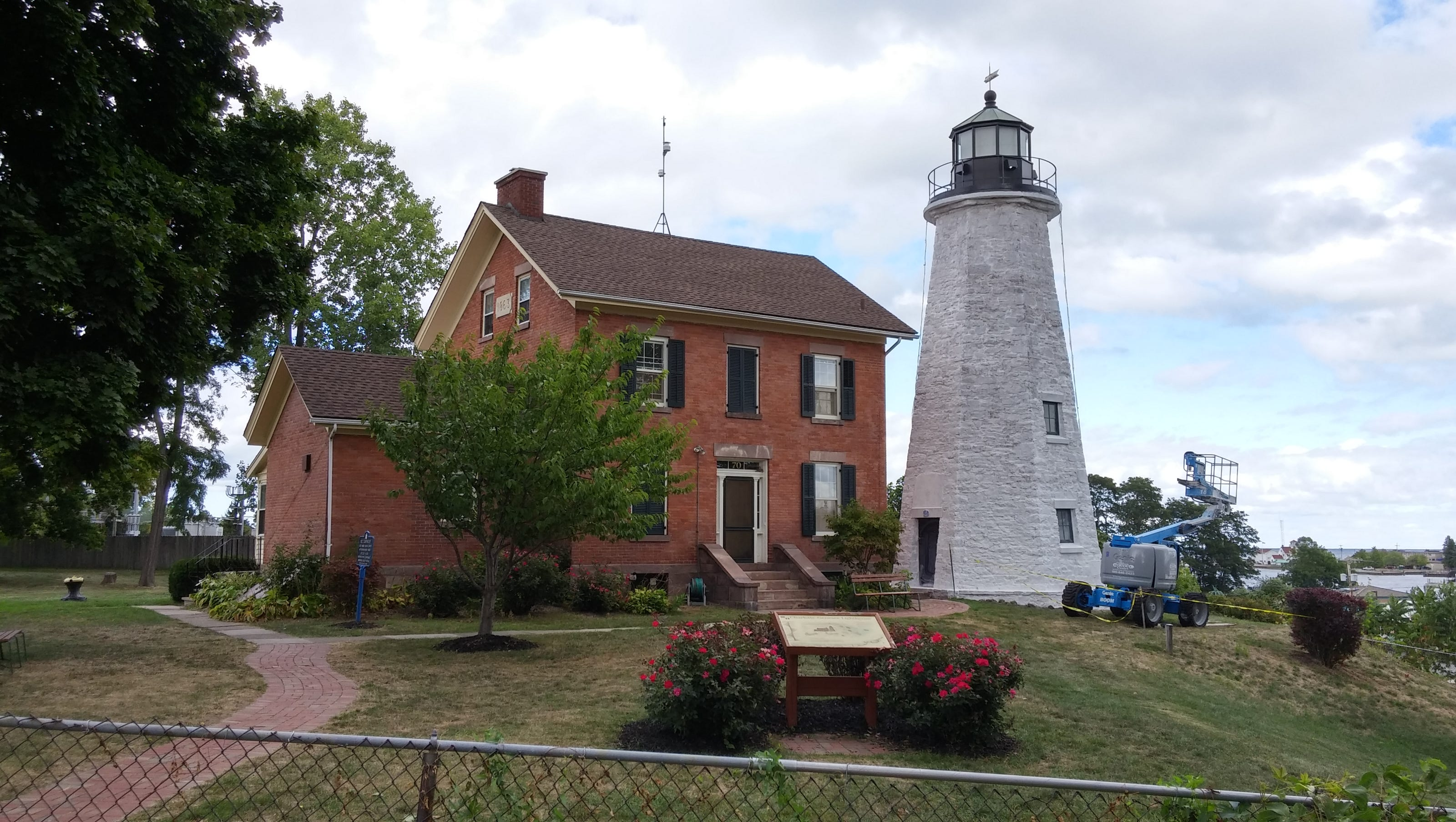 Charlotte Genesee Lighthouse: Charlotte Lighthouse Sports New White Look
