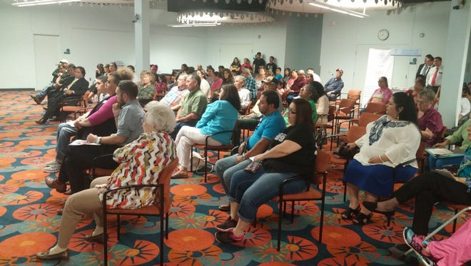 More than 150 people attended a community forum on immigration Monday night in San Angelo.