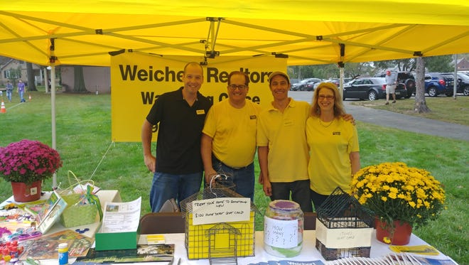 Agents from Weichert's Watchung office supported the 5K Run and Wellness Walk in Sunday, Sept. 17 in Berkeley Heights.