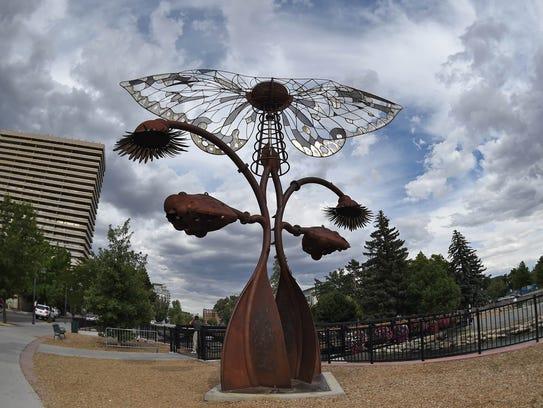 Burning Man Art - Portal of Evolution
