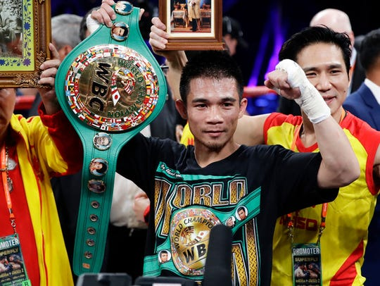 Srisaket Sor Rungvisai is set to meet Mexico's Iran Diaz on Oct. 6.