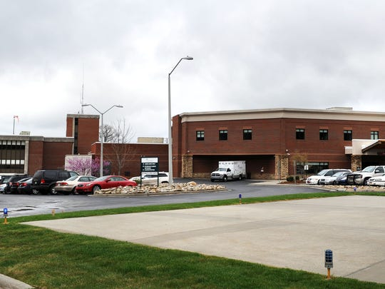 Blue Ridge Regional Hospital in Spruce Pine is shown in a file photo.