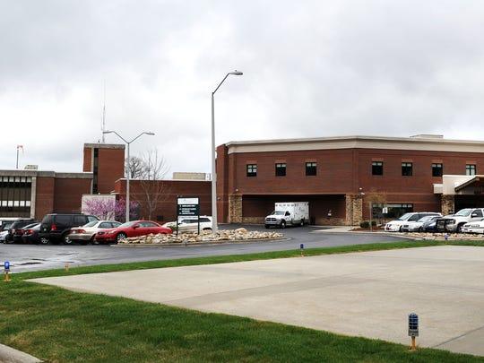 The Blue Ridge Regional Hospital in Spruce Pine.