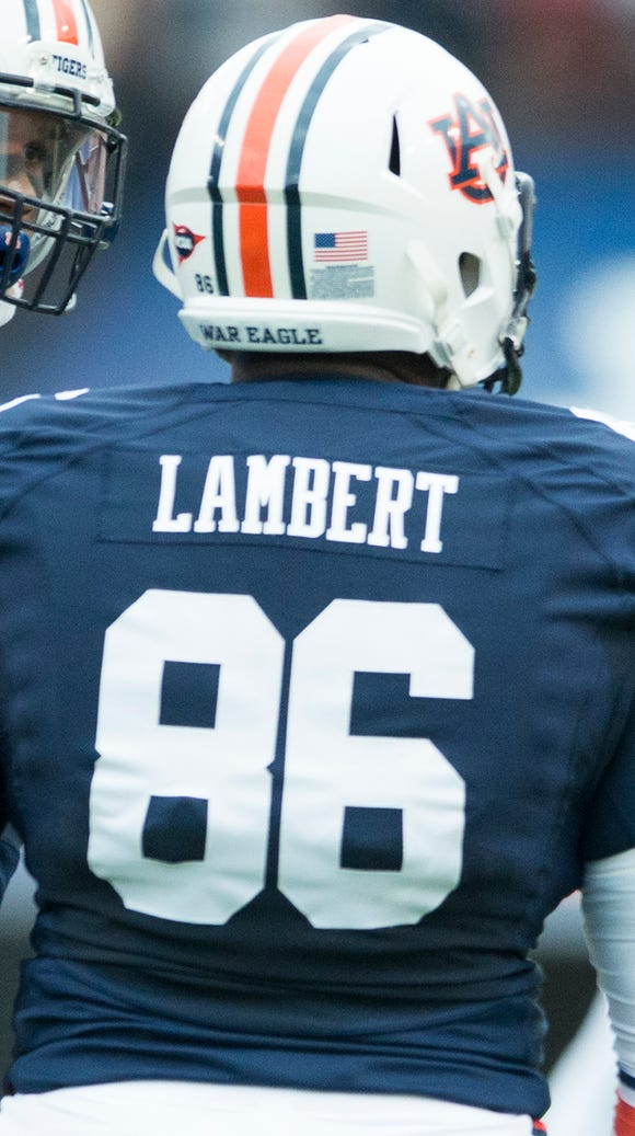 Defensive end DaVonte Lambert leads Auburn with 3 1/2