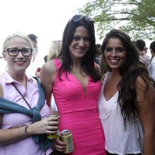 Gina, Abby and Leah at Riverfest party at the Rookwood in Mount Adams, Sunday, August 31, 2014.