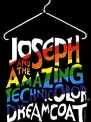 James and the Technicolor Dreamcoat logo.