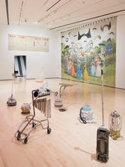 Michigan Stories: Mike Kelley and Jim Shaw, installation