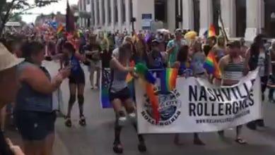 The 2016 Nashville Pride Festival.