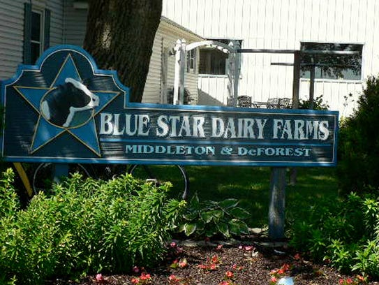 Blue Star Dairy at DeForest, Middleton and Lodi is