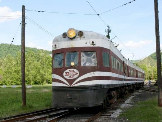 The Liberty Liner, a historic train built in 1941 and provided high-speed electric service from Chicago to Milwaukee, will be open for rides this weekend at Rockhill Trolley Museum.