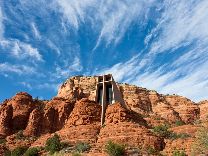 One of the world's more unusual churches,