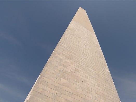 Thesis statement for the washington monument