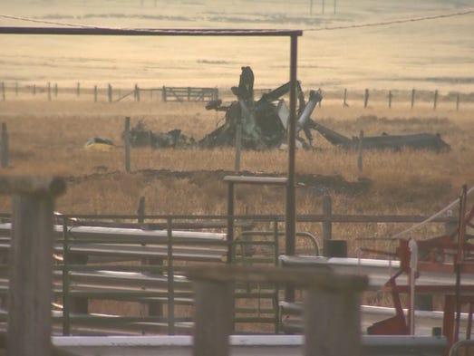 Two Idaho National Guard pilots were killed Thursday