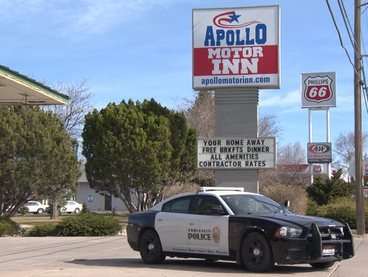 Police Investigate Twin Falls Shooting