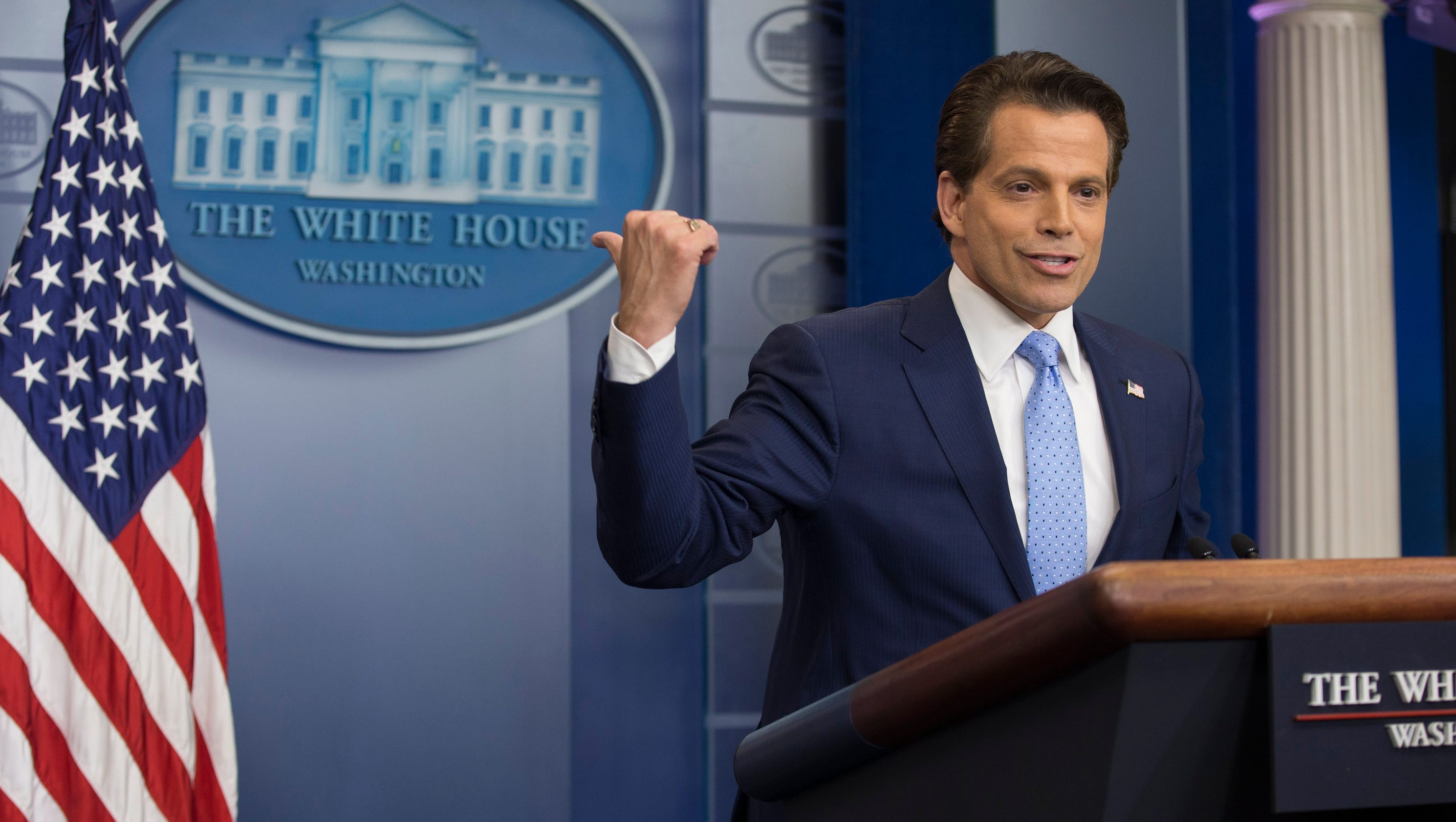 trump's new communications director: president has no need to