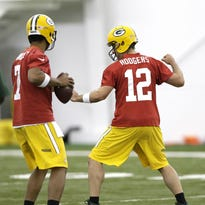 Ryan and Tom on Packers' practice