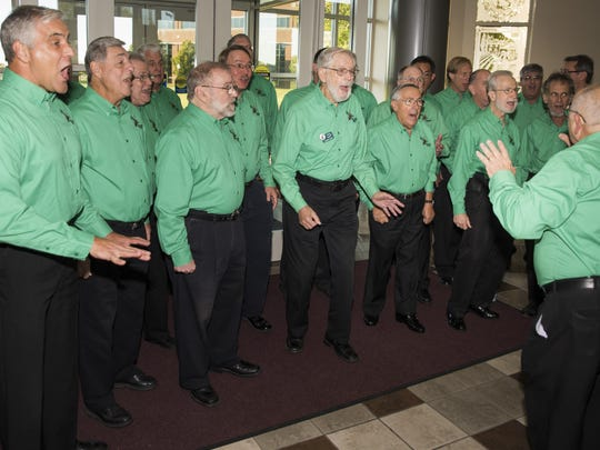 Pine Barons Barbershop Chorus performs Saturday from 2 to 7 p.m. at Mainstage Center for the Arts, Blackwood.
