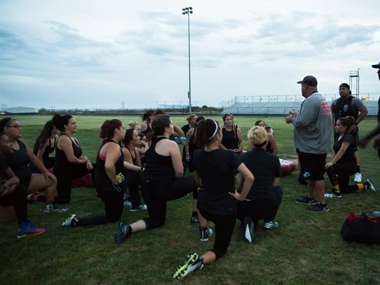 Head Coach for the Las Cruces Coyotes Billy Avalos