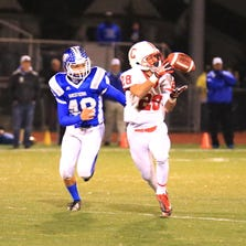Canton's Chuck Turfe, shown here from a 2013 game, got his senior season off to a stellar start Thursday night.