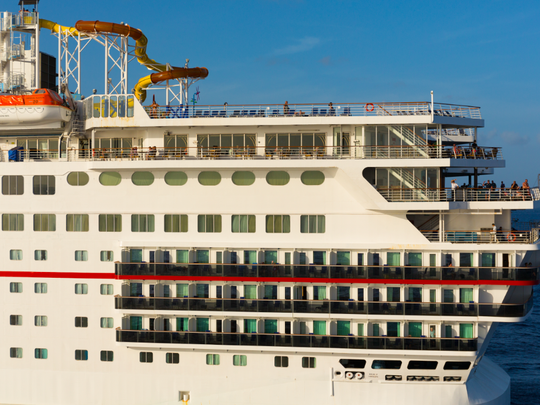 The Elation has a double-occupancy capacity of 2,130 and a full capacity of 2,650.