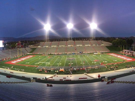 Dreamstyle Stadium in Albuquerque, New Mexico.