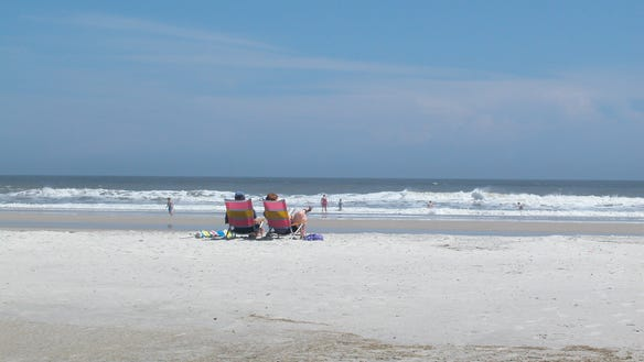 Florida state parks Anastasia beach smackdown 2