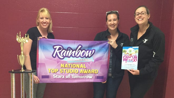 The Studio Y Dance program, under the direction of choreographers Tab Bullard, Maeghan Johnson and Dana Kruger, earned Top Studio Award in a national dance competition.