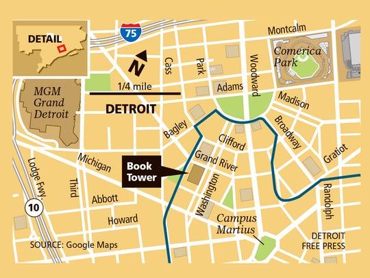 Dan Gilbert's newest Detroit building: the Book Tower.