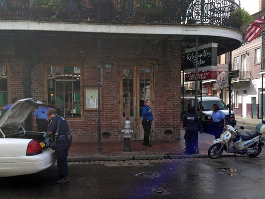 CORRECTION Bourbon Street Shooting