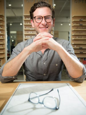 Dave Gilboa is co-CEO of eyeglasses maker Warby Parker, which is headquartered in New York City.