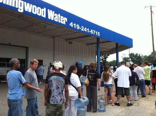 AP Toledo Water Problems