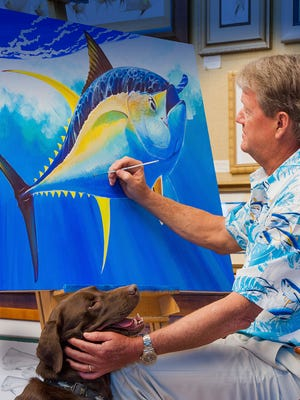 Guy Harvey will meet fans and sign merchandise Saturday at Bass Pro Shops in Destin.