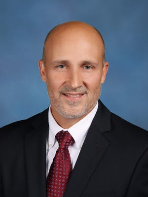 Lee County schools superintendent Greg Adkins