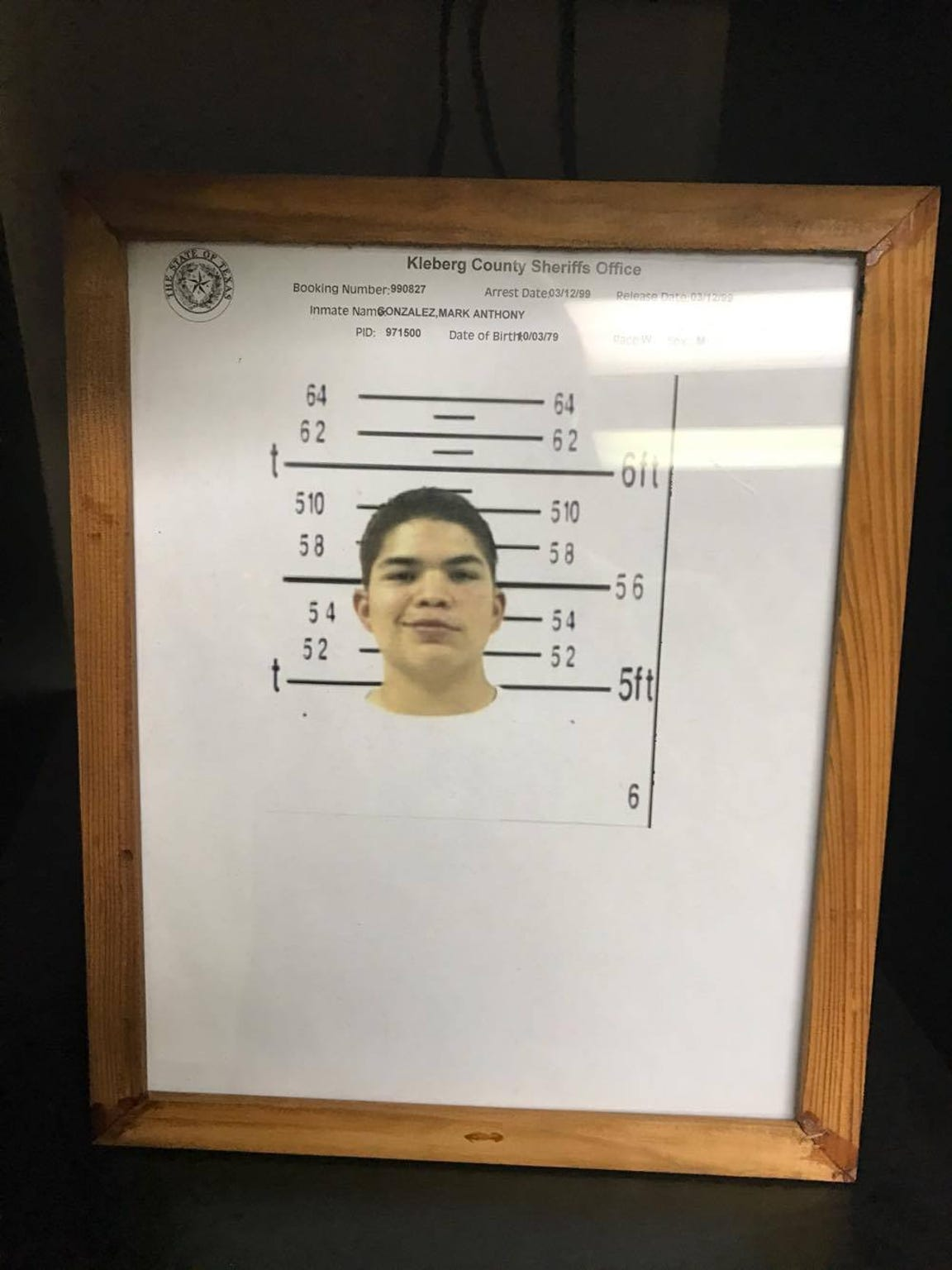 At 19, Mark Gonzalez was charged with driving while